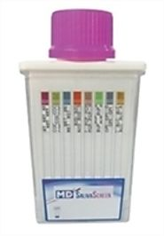 MD SalivaScreen 5 panel oral fluid saliva drug test