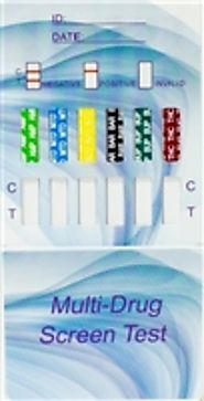 W154 Clia waived urine dip drug test card $1.99ea.