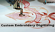 Custom Embroidery Digitizing - Absolute Digitizing