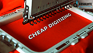 Cheap Digitizing at $ 1 / 1000 Stitches - Absolute Digitizing