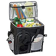 Koolatron 26-Quart Soft-Sided Electric Travel Cooler, Black