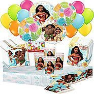 Disney Moana Deluxe Party Pack Bundle