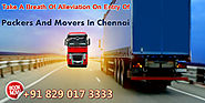 Packers And Movers Chennai: Relocation of Army Goods and Archery Is Prone To Danger – Packers and Movers in Chennai
