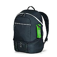 Summit Backpack Cooler Bag, 30 Can Cooler Backpack Black
