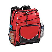 Backpack Cooler - Red