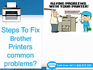 How to Deal With Brother Printer Replace Toner Message?