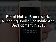 Why Select React Native For Hybrid App Development?