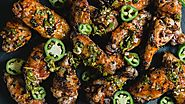 Grilled Chimichurri Chicken Wings
