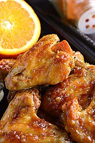Spicy Orange Chicken Wings