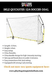 SKLZ Quickster Soccer Goals & Nets | Play it Again Sports