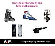 New and Gently Used Sports Gear and Equipment
