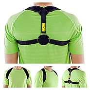 "Posture Corrector Adjustable(28""- 48"") & Clavicle Brace for Men and Women Posture Brace Clavicle Support EASY TO WEAR..."