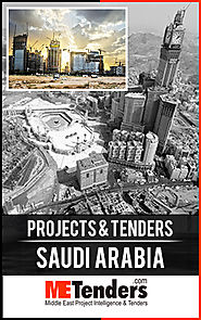 Latest Projects & Tenders in Saudi Arabia