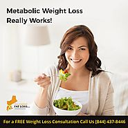 Metabolic weight loss programs work