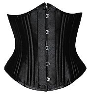 "Camellias Women's 26 Steel Boned Heavy Duty Waist Trainer Corset Shaper for Weight Loss, XL/30"" (Fit Natural Waist 33..."