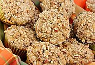 Streusel Topped Pumpkin Pecan Muffins ⋆ MYLIFESTYLEINK.COM