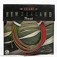 Leland New Zealand Trout Fly Fishing Line, Weight-Forward Floating