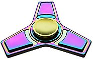Mermaker Best Fidget Spinner Toy for Relieving ADHD, Anxiety, Boredom EDC Tri-Spinner Fidget Toy, Smooth Surface Fini...