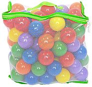 100 Wonder Playball Non-Toxic Crush Proof Quality Balls w/ Mesh Tote