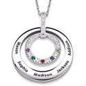 Mothers Necklace with Names