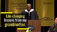 Wise Words from My Grandmother | Kenny Leon | Goalcast