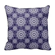 Beautiful Navy Blue Throw Pillows | Home Decor