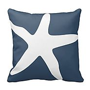 Navy Blue Throw Pillows
