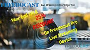 25% Flat Discount on Freedocast Live Streaming Device