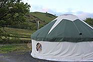 Relax in Peace and Tranquility at Cledan Valley Glamping In Mid Wales