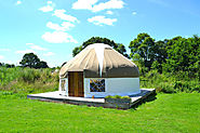 Tranquil Glamping in a Yurt at Bloomfield Camping, North Dorset