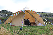 5 Nights Camping In The Stunning New Star Canopy Bell Tent from Boutique Camping