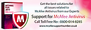 Contact McAfee technical support UK