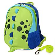Yodo Upgraded Kids Insulated Toddler Backpack with Safety Harness Leash and Name Label - Playful Preschool Lunch Boxe...