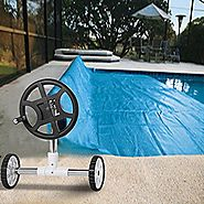 Yaheetech 21-feet Wide Inground Solar Cover Reel System for Swimming Pools