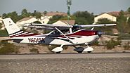 Cessna 182 take off