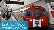 Last 1967 Victoria Line Train on the London Underground