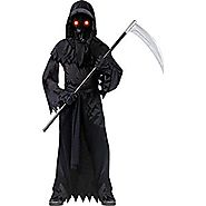 Fade in/out Phantom Halloween costume Medium 8-10 Black