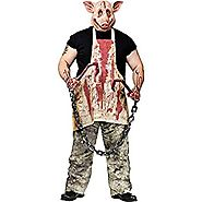 FunWorld Pork Grinder Adult Pig Halloween Costume