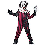 California Costumes Killer Klown Child Halloween Costume, Medium