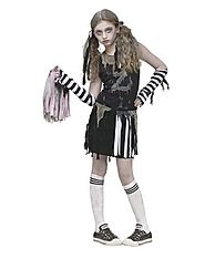 Zombie Cheerleader Halloween Costume Ideas