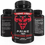 Prime Labs Men's Testosterone Supplement (60 Caplets) – Natural Stamina, Endurance and Strength Booster – Fortifies M...