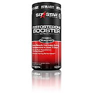 Six Star Testosterone Booster Supplement, Extreme Strength Testosterone, 60 Caplets