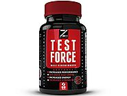 TEST:FORCE - 100% Natural Maximum Strength & Potent Testosterone Booster For Men - Supercharges Vitality, Muscle Mass...