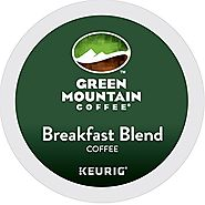 Green Mountain Coffee Breakfast Blend Keurig Single-Serve K-Cup Pods (Light Roast)