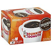 Dunkin' Donuts Coffee for K-Cup Pods (Original Blend)