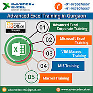 Advanced Excel Training in Gurgaon : Advanced Excel Training in Gurgaon