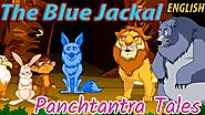 The Blue Jackal | Panchatantra Stories for Kids in English with Subtitles | MahaCartoonTV English