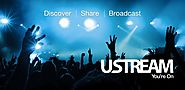 Ustream – Live webcast, seamless streaming