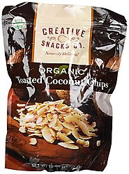 Creative Snacks Organic Toasted Coconut Chips
