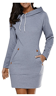 Top 10 Best Sweatshirt Dresses in 2017 - Buyer's Guide (September. 2017)